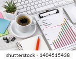 accounting. items for doing... | Shutterstock . vector #1404515438