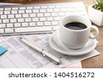 accounting. items for doing... | Shutterstock . vector #1404516272