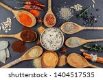 spices and seasonings for... | Shutterstock . vector #1404517535