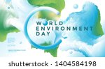 world environment day poster... | Shutterstock .eps vector #1404584198