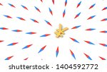 all compasses turned to dollar... | Shutterstock . vector #1404592772