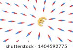 all compasses turned to euro... | Shutterstock . vector #1404592775