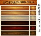 wooden texture seamless... | Shutterstock .eps vector #140463898