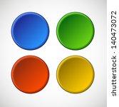 vector blank badge template...   Shutterstock .eps vector #140473072