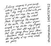 handwritten abstract text... | Shutterstock . vector #1404737912