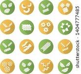 pasta noodles flat design long... | Shutterstock .eps vector #1404777485