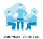 business meeting. board of...   Shutterstock .eps vector #1404811538