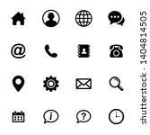 web icon set. website icon...