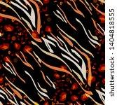 animal print skin of leopard ... | Shutterstock .eps vector #1404818555