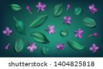 green spring background with... | Shutterstock .eps vector #1404825818