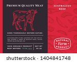 premium quality meat abstract... | Shutterstock .eps vector #1404841748