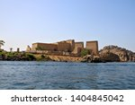 the ancient egyptian temple of...   Shutterstock . vector #1404845042