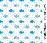 marine seamless pattern. vector ...   Shutterstock .eps vector #1404849392