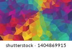 vector  multicolor geometric... | Shutterstock .eps vector #1404869915
