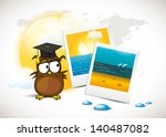 student   summer holiday | Shutterstock .eps vector #140487082