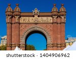 triumphal arch in the city of... | Shutterstock . vector #1404906962