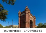 triumphal arch in the city of... | Shutterstock . vector #1404906968