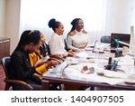 african american women... | Shutterstock . vector #1404907505