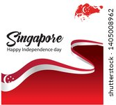 singapore independence day...   Shutterstock .eps vector #1405008962
