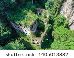 Small photo of Nature reclaims the Mills Vallum in Sorrento, Italy