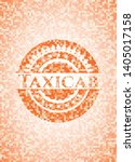 taxicab abstract orange mosaic... | Shutterstock .eps vector #1405017158