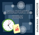 writing note showing graduate...   Shutterstock . vector #1405042358