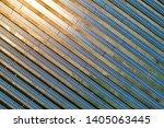 aerial view of solar panel farm ... | Shutterstock . vector #1405063445