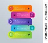 infographics design vector and...   Shutterstock .eps vector #1405088825