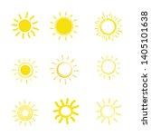 flat sun icon. sun pictogram....   Shutterstock .eps vector #1405101638