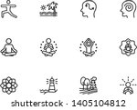 meditation and yoga line icon...   Shutterstock .eps vector #1405104812