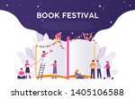 book festival illustration... | Shutterstock .eps vector #1405106588