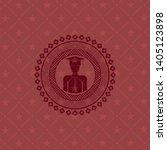 graduated icon inside badge...   Shutterstock .eps vector #1405123898