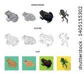 vector design of wildlife and... | Shutterstock .eps vector #1405155302