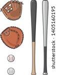 image illustration of baseball... | Shutterstock .eps vector #1405160195