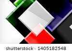 bright colorful square shape... | Shutterstock .eps vector #1405182548