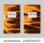 set of vector business card... | Shutterstock .eps vector #1405201472