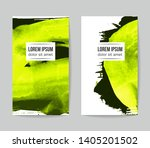 set of vector business card... | Shutterstock .eps vector #1405201502