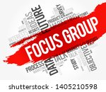 focus group word cloud collage  ... | Shutterstock .eps vector #1405210598
