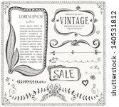 vintage frames and design... | Shutterstock .eps vector #140531812