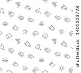 weather icons seamless pattern... | Shutterstock .eps vector #1405323728