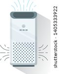 Air Purifier  Isolated.  Home...