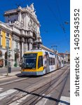 lisbon  portugal   september 4  ... | Shutterstock . vector #1405343552