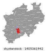rheinisch bergischer kreis red... | Shutterstock . vector #1405361942