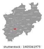 leverkusen red highlighted in... | Shutterstock . vector #1405361975