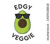 vector illustration of a funny... | Shutterstock .eps vector #1405428818