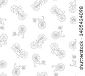 seamless background of outlines ... | Shutterstock .eps vector #1405434098