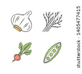 vegetables color icons set.... | Shutterstock .eps vector #1405477415