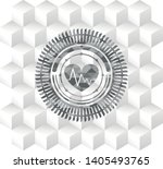 heart with electrocardiogram... | Shutterstock .eps vector #1405493765