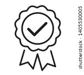 approval check vector icon... | Shutterstock .eps vector #1405530005