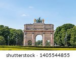 paris  france   may 16  2019  ... | Shutterstock . vector #1405544855